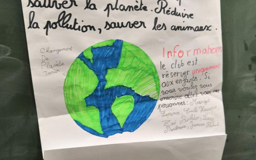 Choisis ta planète et la question de l'eau pour les enfants du primaire