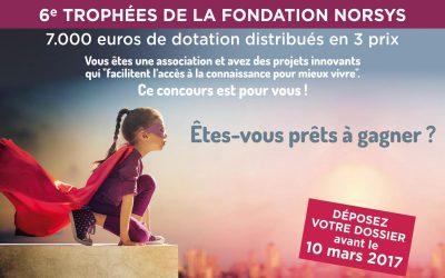 Lancement des trophées de la Fondation – 6e édition