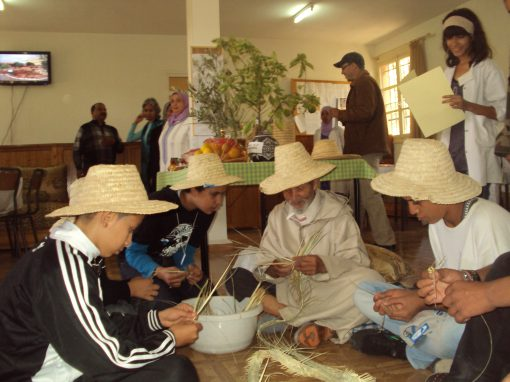 Club environnement dans les lycées marocains