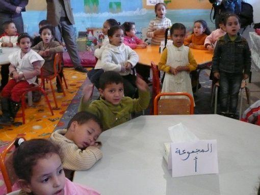 Création d'une classe préscolaire à Marrakech