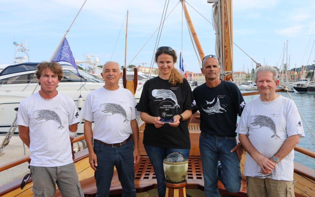Trophée Coup de Foudre 2017 à SOS Grand Bleu