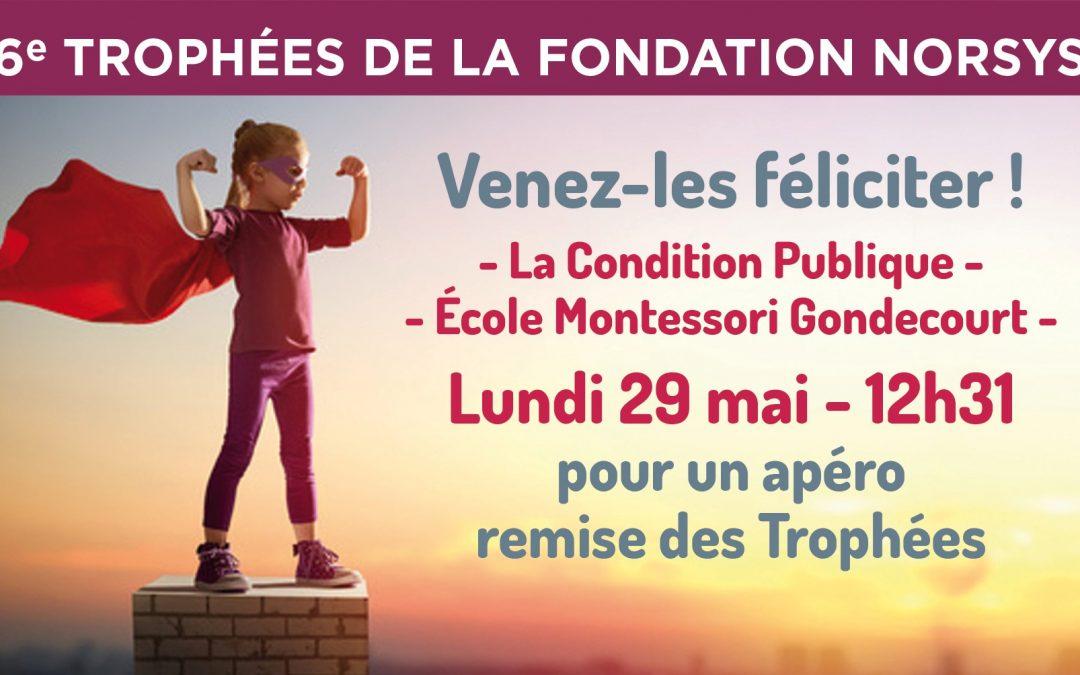Remise des Trophées de la Fondation 2017